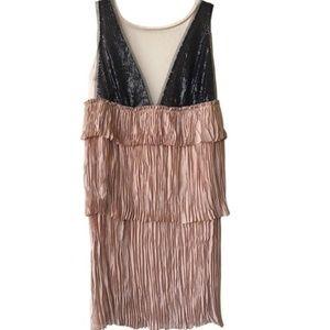 BCBGMaxAzria Averil Cocktail Dress Sz LG NEW!